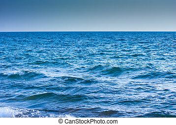 morze, powierzchnia