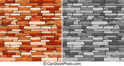 mosaïque, pierre, seamless, fond