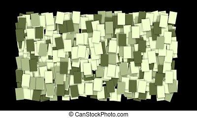 mosaïques, wallpaper., papier, carrée