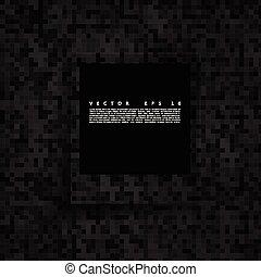 mosaic., 抽象的, ベクトル, 広場, ピクセル