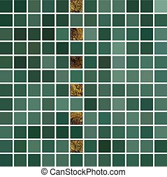 mosaic., 10., résumé, eps, arrière-plan., vecteur, vert, carrelé