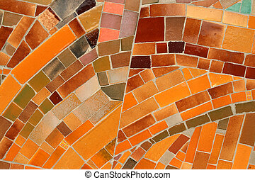 Mosaic abstract