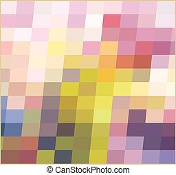mosaic abstraction, bright square background. vector illustration