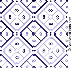 Mosaic background with seamless pattern in lilac
