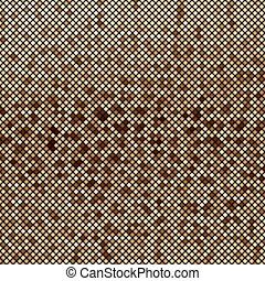 Mosaic brown abstraction