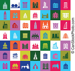 Mosaic city