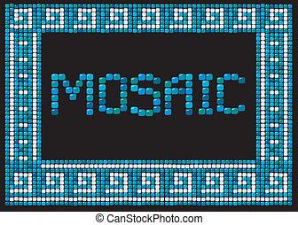 mosaic frame (landscape)