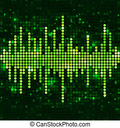 Mosaic green equalizer