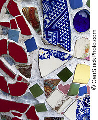 Mosaic made from ceramic