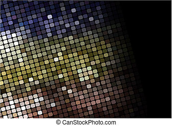 mosaic multicolor background