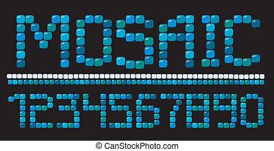 mosaic numerals