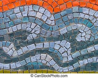 Mosaic on church in Kiev