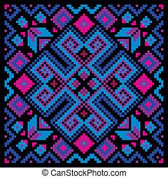 mosaic ornamental background