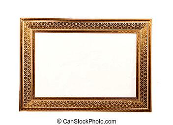 mosaic design persian photo frame