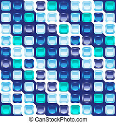 Mosaic seamless background