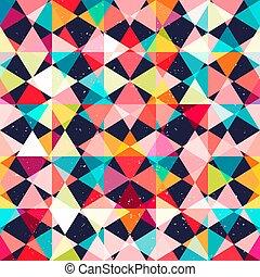 Mosaic seamless pattern.