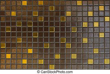 Mosaic tiles, texture, background