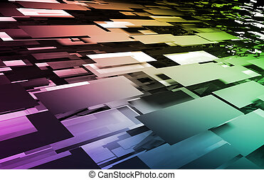 mosaico, digitale