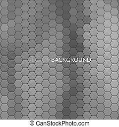 mosaico, esagono, pixel, fondo, digitale