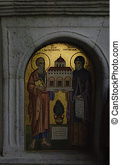 mosaico, ortodosso