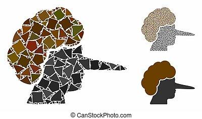 mosaico, partes, lier, icono, humpy