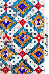 mosaico, plano de fondo