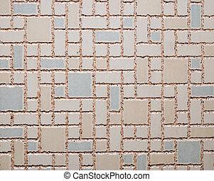 mosaico, plano de fondo, textura