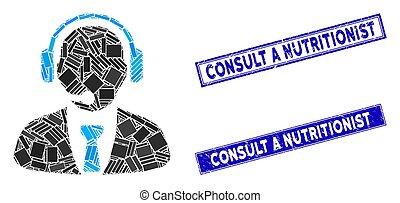 mosaico, rasguñado, rectángulo, apoyo, consultar,...