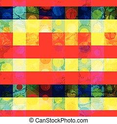 mosaico, seamless, padrão