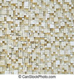 mosaico, texture.
