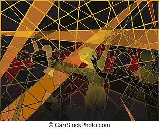 mosaik, disko