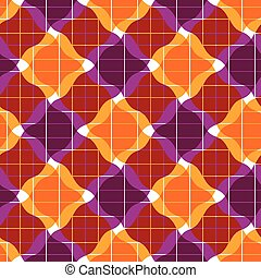 mosaik, geo, seamless, mönster, utsirad