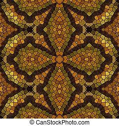 mosaik, mönster,  seamless, Struktur, Kalejdoskop