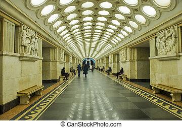 moscú, metro
