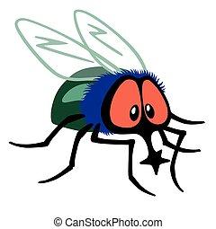 mosca, cartone animato