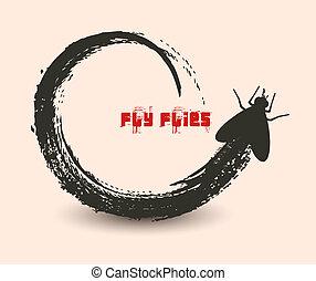 mosca, moscas