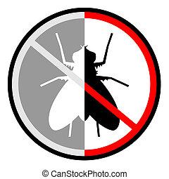 mosca, não
