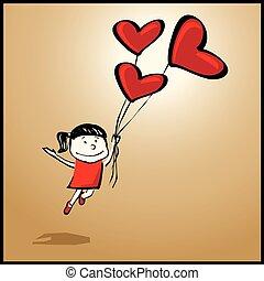 mosca, quando, lei, amore, lattina