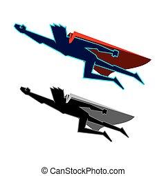 mosca, superhero