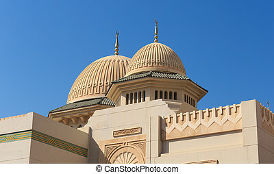 moschea, in, sharjah, uae