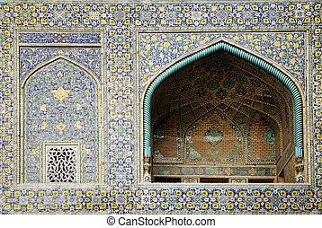 moschea, iran, isfahan