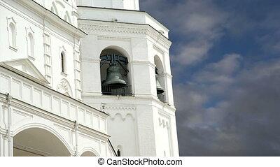 moscou, bell., kremlin, grand, ivan