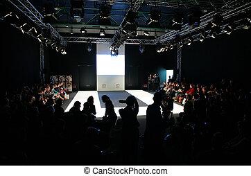 moscou, -, février, 26:, collection, première, moscow., 26-29, février, 2008
