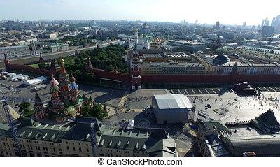 moscou, -, kremlin, russie