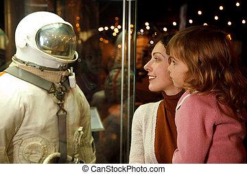 moscou, russie, -, novembre, 8:, dans, une, astronautique,...