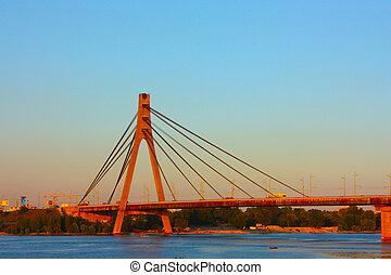 Moscov bridge taken in Kiev