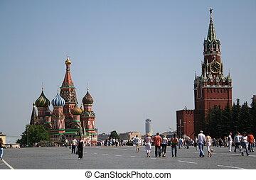 moscow., 赤の広場