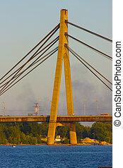 Moscow bridge taken in Kiev