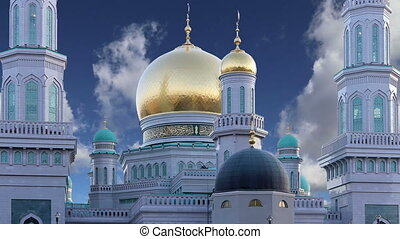 Moscow Cathedral Mosque, Russia -- the main mosque in Moscow...