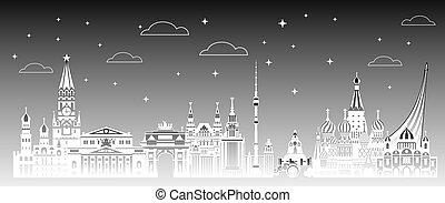 Moscow City gradient 3
